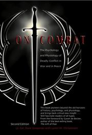 ON COMBAT by Lt. Col. Dave and Loren W. Christensen Grossman
