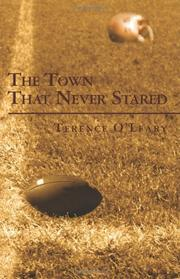 Cover art for THE TOWN THAT NEVER STARED
