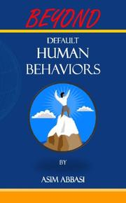 Cover art for BEYOND DEFAULT HUMAN BEHAVIORS