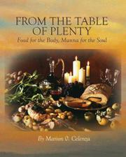 Cover art for FROM THE TABLE OF PLENTY
