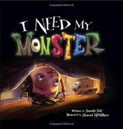 Cover art for I NEED MY MONSTER