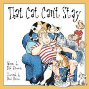 THAT CAT CAN'T STAY by Thad Krasnesky