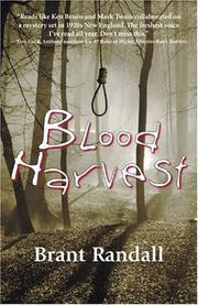 BLOOD HARVEST by Brant Randall