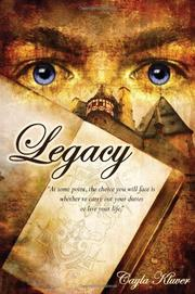 LEGACY by Cayla Kluver