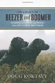 Cover art for THE LEGACY OF BEEZER AND BOOMER