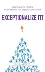 Book Cover for EXCEPTIONALIZE IT!