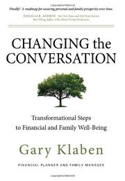 CHANGING THE CONVERSATION by Gary Klaben