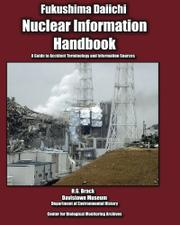 Cover art for NUCLEAR INFORMATION HANDBOOK