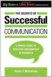 Book Cover for THE SECRETS OF SUCCESSFUL COMMUNICATION