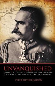 UNVANQUISHED by Peter Hetherington