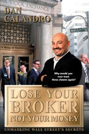 Cover art for Lose Your Broker Not Your Money