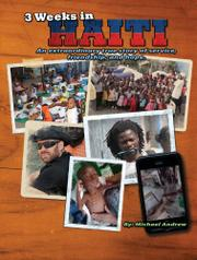 Book Cover for 3 WEEKS IN HAITI