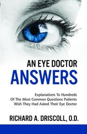 Book Cover for AN EYE DOCTOR ANSWERS