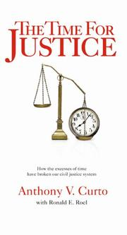 Cover art for THE TIME FOR JUSTICE