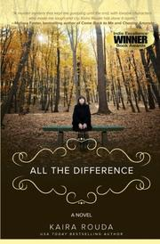 Book Cover for ALL THE DIFFERENCE
