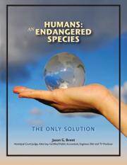 Book Cover for HUMANS: AN ENDANGERED SPECIES