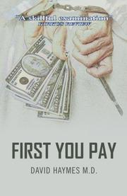 FIRST YOU PAY by David Haymes