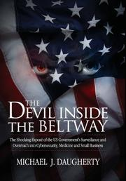 THE DEVIL INSIDE THE BELTWAY by Michael J. Daugherty