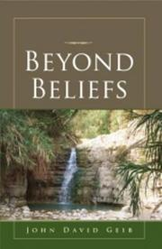 Beyond Beliefs by John David Geib