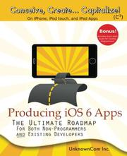 Cover art for PRODUCING IOS6 APPS