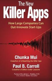 The New Killer Apps by Chunka Mui