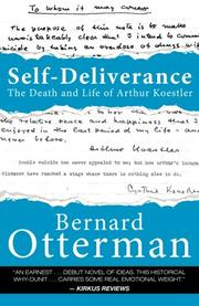 SELF-DELIVERANCE by Bernard Otterman