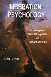 LIBERATION PSYCHOLOGY by Denis Carville