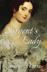 Sargent's Lady by Judith Fabris