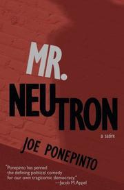 MR. NEUTRON by Joe Ponepinto