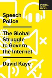 SPEECH POLICE by David Kaye