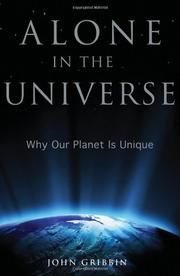 Book Cover for ALONE IN THE UNIVERSE