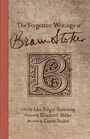 Cover art for THE FORGOTTEN WRITINGS OF BRAM STOKER