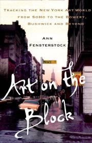 ART ON THE BLOCK by Ann Fensterstock