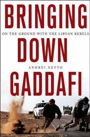 BRINGING DOWN GADDAFI by Andrei Netto