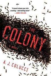 Cover art for THE COLONY