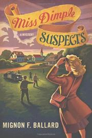 MISS DIMPLE SUSPECTS by Mignon F. Ballard
