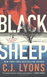 BLACK SHEEP by C.J. Lyons