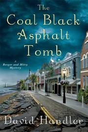 THE COAL BLACK ASPHALT TOMB by David Handler