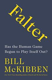 FALTER by Bill McKibben