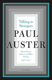 TALKING TO STRANGERS by Paul Auster