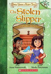 THE STOLEN SLIPPER by Anna Staniszewski