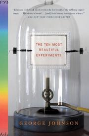 Cover art for THE TEN MOST BEAUTIFUL EXPERIMENTS