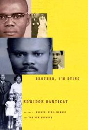 Cover art for BROTHER, I'M DYING
