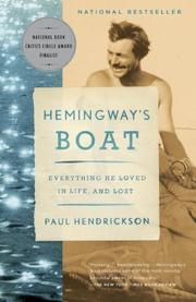 Book Cover for HEMINGWAY'S BOAT