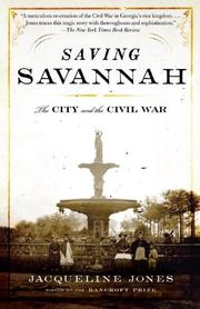 SAVING SAVANNAH by Jacqueline Jones