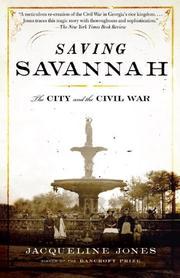 SAVING SAVANNAH by Jacqueline Jones