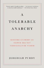 Cover art for A TOLERABLE ANARCHY