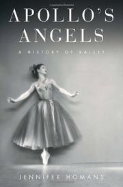 APOLLO'S ANGELS by Jennifer Homans
