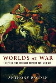 WORLDS AT WAR by Anthony Pagden