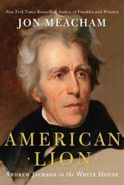 Cover art for AMERICAN LION
